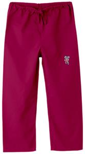 University of Alabama Kids Logo Crimson Scrub Pant