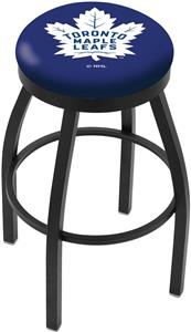 Toronto Maple Leafs NHL Flat Ring Blk Bar Stool