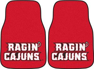 Fan Mats Louisiana-Lafayette Carpet Car Mats (set)