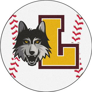 Fan Mats Loyola University Chicago Baseball Mat