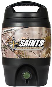 NFL New Orleans Saints 1 gal Realtree Tailgate Jug