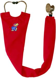 University of Kansas Red Stethoscope Covers