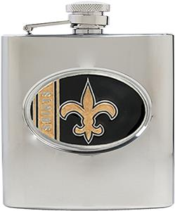 NFL New Orleans Saints 6oz Stainless Steel Flask