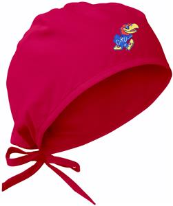 University of Kansas Red Surgical Caps