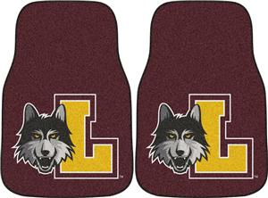 Fan Mats Loyola Univ Chicago Carpet Car Mats (set)