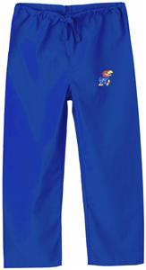 University of Kansas Kid's Royal Scrub Pant