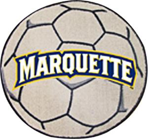 Fan Mats Marquette University Soccer Ball
