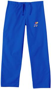 University of Kansas Royal Classic Scrub Pants