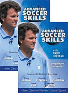 Advance Soccer Skills (2-DVDs) training videos