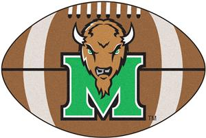 Fan Mats Marshall University Football Mat