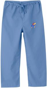 University of Kansas Kid's Sky Scrub Pant