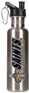 NFL New Orleans Saints Stainless Water Bottle