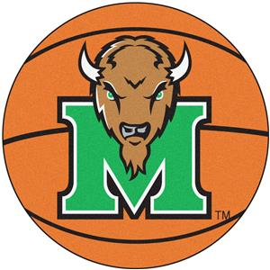 Fan Mats Marshall University Basketball Mat