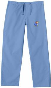 University of Kansas Sky Classic Scrub Pants