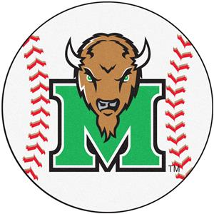 Fan Mats Marshall University Baseball Mat