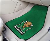 Fan Mats Marshall University Carpet 2 PC Mats