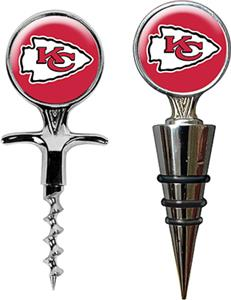 NFL Kansas City Chiefs Cork Screw & Bottle Topper