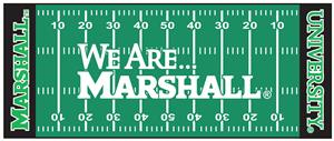 Fan Mats We Are Marshall Football Field Runner