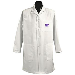 Kansas State University White Long Labcoats