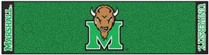 Fan Mats Marshall University Putting Green Mat