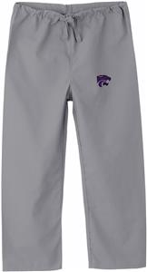 Kansas State University Kid's Gray Scrub Pants