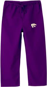 Kansas State University Kid's Purple Scrub Pants