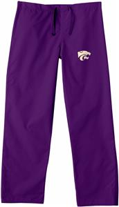 Kansas State University Purple Classic Scrub Pants