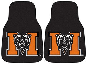 Fan Mats Mercer Univ Carpet Car Mats (set)
