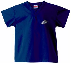 University of Akron Kid's Navy Scrub Tops