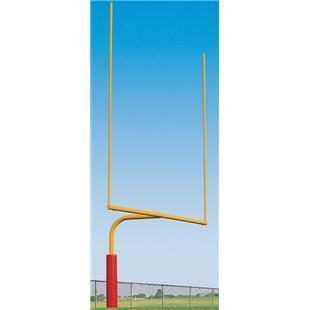 Porter Steel Plate Mount Football Goals - 6'