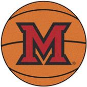 Fan Mats Miami of Ohio Basketball Mat