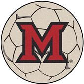Fan Mats Miami of Ohio Soccer Ball Mat
