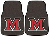 Fan Mats Miami of Ohio Carpet Car Mats (set)