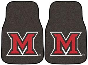 Fan Mats Miami of Ohio Carpet Car Mats (set)