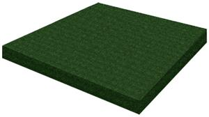 Porter Solid Plug - Turf Covered Wood