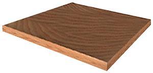 Porter Football Solid Plug - Blank Wood