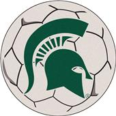 Fan Mats Michigan State University Soccer Ball Mat