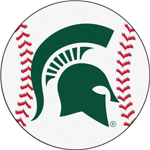 Fan Mats Michigan State University Baseball Mat