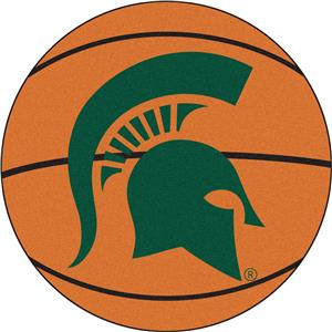 Fan Mats Michigan State University Basketball Mat