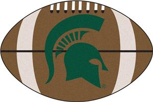 Fan Mats Michigan State University Football Mat