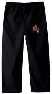 Arizona State University Kid's Black Scrub Pants