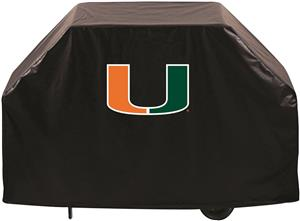 University of Miami FL College BBQ Grill Cover