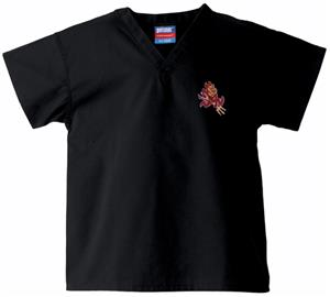 Arizona State University Kid's Black Scrub Tops
