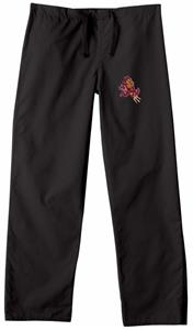 Arizona State University Black Classic Scrub Pants