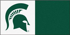 Fan Mats Michigan State University Carpet Tiles