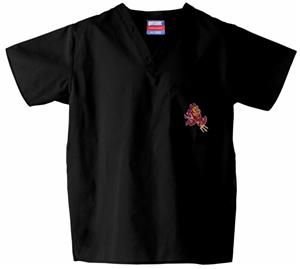 Arizona State University Black Classic Scrub Tops