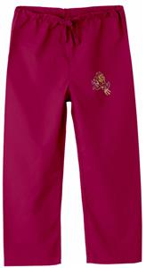 Arizona State University Kid's Crimson Scrub Pants