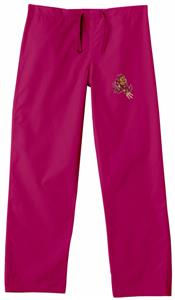 Arizona State University Crimson Scrub Pants