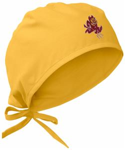 Arizona State University Gold Surgical Caps