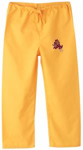 Arizona State University Kid's Gold Scrub Pants